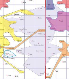 Dino Flu map